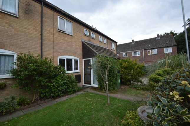 Thumbnail Terraced house for sale in Poplar Close, New Costessey, Norwich