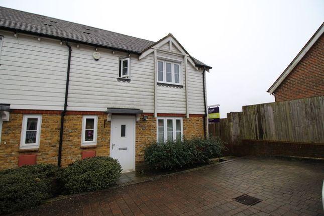 Thumbnail Semi-detached house for sale in Green Fields Lane, Singleton, Ashford