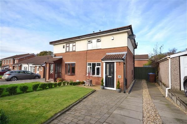 Thumbnail Semi-detached house for sale in The Cedars, Eaves Green, Chorley