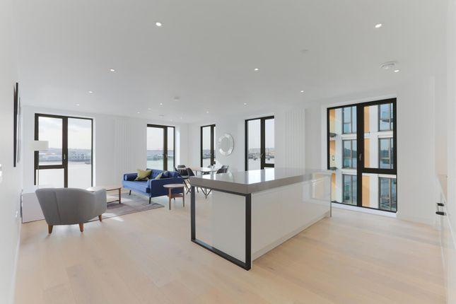 Thumbnail Flat to rent in Laker House, Royal Wharf, London