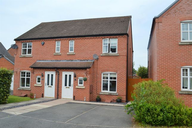 Thumbnail Semi-detached house for sale in Crecy Place, Lichfield