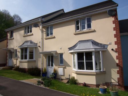 Thumbnail Terraced house to rent in Kensey Valley Meadow, Launceston