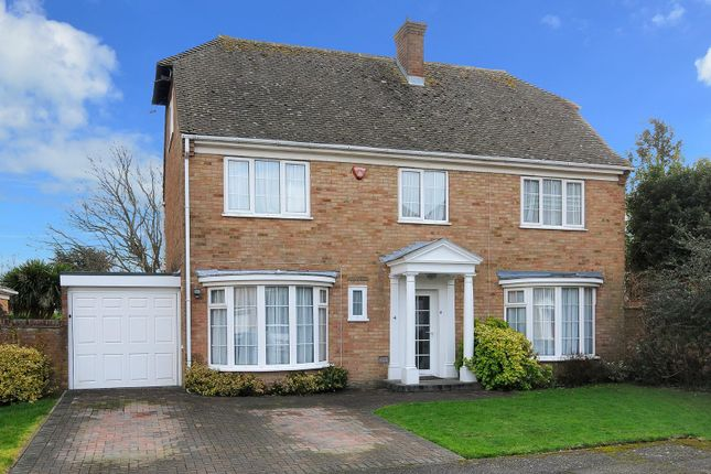 Thumbnail Detached house for sale in Corone Close, Folkestone