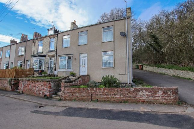 Thumbnail End terrace house for sale in East Crescent, Loftus, Saltburn-By-The-Sea