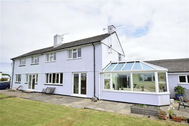 Thumbnail Semi-detached house for sale in Camelford