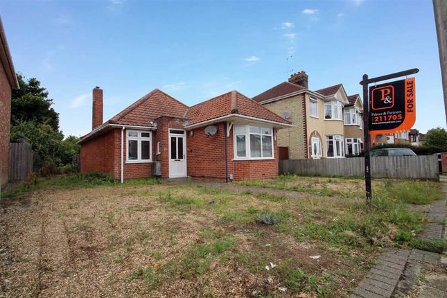 Thumbnail Detached bungalow for sale in Brunswick Road, Ipswich