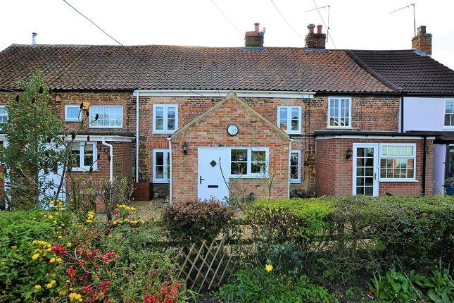 Thumbnail Terraced house for sale in Common Lane, North Runcton, Kings Lynn, Norfolk.