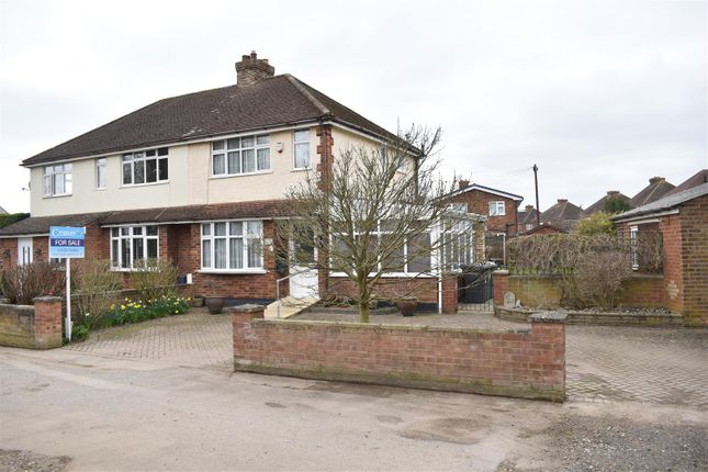 Thumbnail Semi-detached house for sale in Holywell Road, Cranfield, Bedford