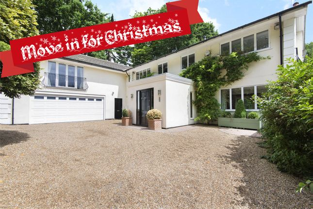 Thumbnail Detached house for sale in Gatehouse Close, Coombe, Kingston Upon Thames