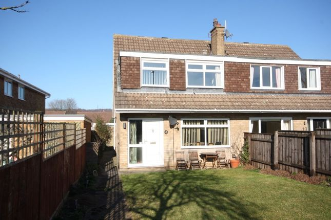 Thumbnail Semi-detached house for sale in Swallow Close, Guisborough