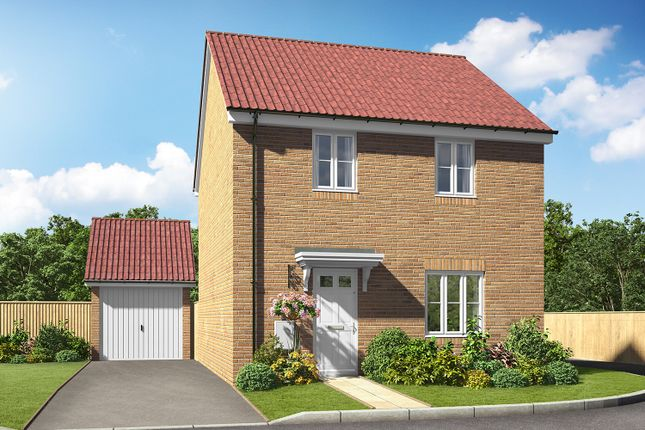 Thumbnail Detached house for sale in Off Gipping Road, Great Blakenham