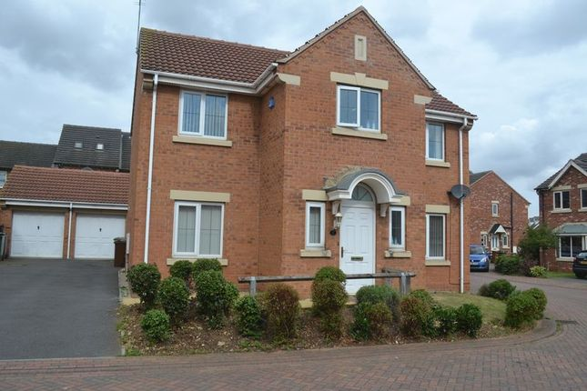 Thumbnail Detached house to rent in Mimosa Court, Scunthorpe