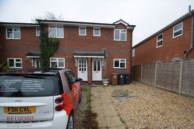 Thumbnail Terraced house to rent in Dances Close, Andover