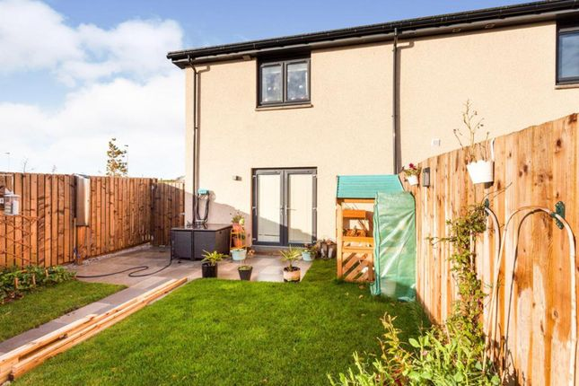 Thumbnail End terrace house for sale in Maidencraig Way, Aberdeen