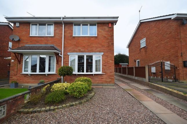Thumbnail Semi-detached house for sale in Kilsby Grove, Milton, Stoke-On-Trent