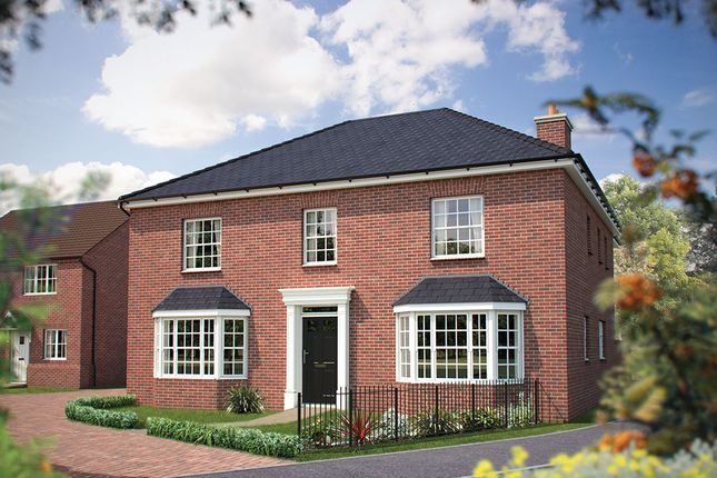 "Thumbnail Detached house for sale in ""The Ascot"" at Main Street, Tingewick, Buckingham"