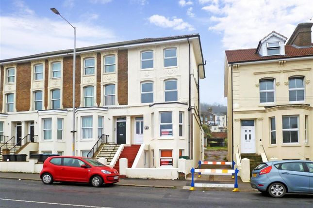 Thumbnail Flat to rent in Folkestone Road, Dover