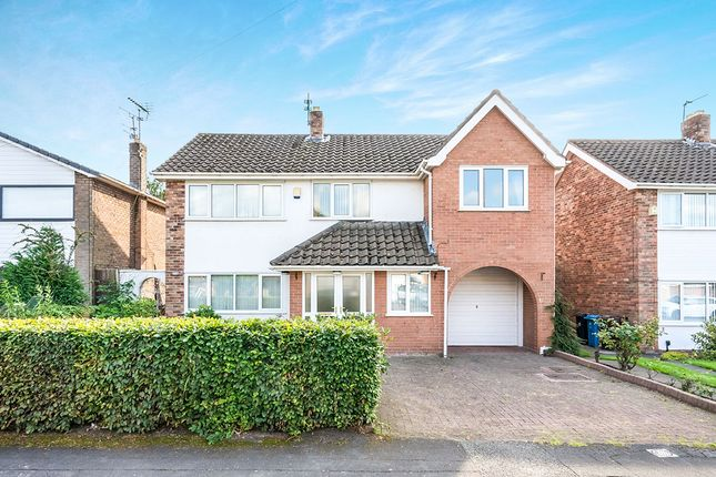 Thumbnail Detached house for sale in Longmeadow Road, Knowsley, Prescot, Merseyside