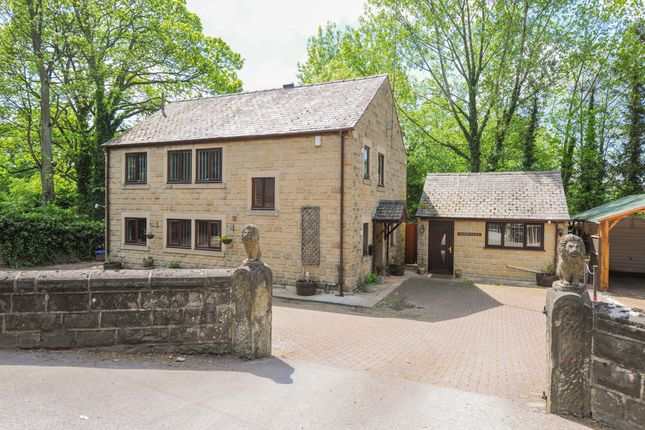 Thumbnail Detached house for sale in Warney-Lea, Dale Road South, Darley Dale