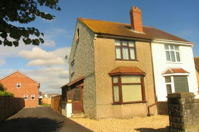Thumbnail Semi-detached house for sale in Baytree Road, Milton, Weston-Super-Mare