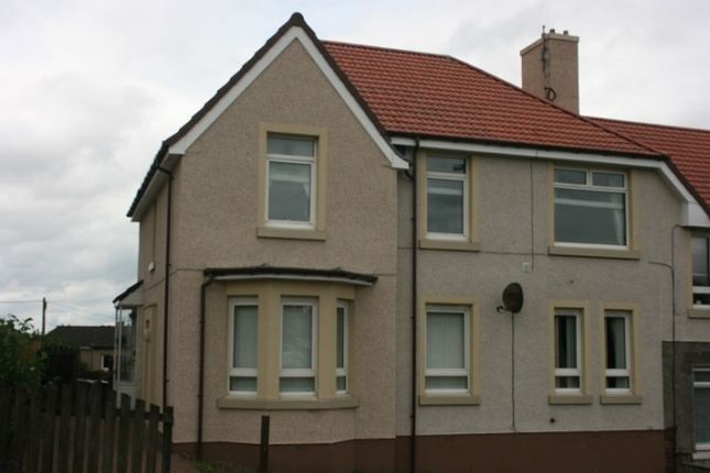 Thumbnail Flat for sale in Gartlea Road, Airdrie