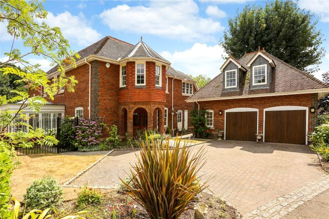 Thumbnail Detached house for sale in Shenton Gate, Gorse Lane, Chobham, Surrey
