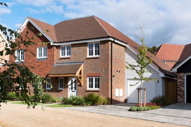 Thumbnail Semi-detached house for sale in Cherry Tree Lane, Ewhurst, Cranleigh