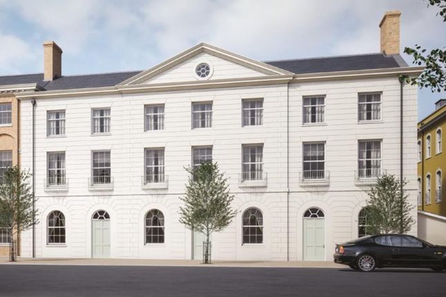 Thumbnail End terrace house for sale in Crown Street West, Poundbury, Dorchester