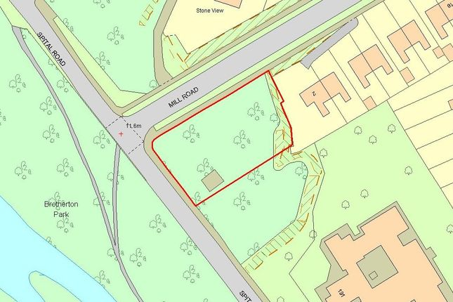 Thumbnail Land for sale in Mill Road/Spital Road, Bromborough