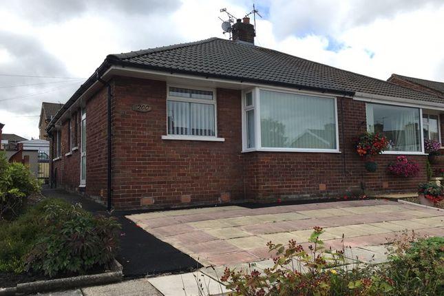 Thumbnail Semi-detached bungalow for sale in Blackburn Road, Oswaldtwistle, Accrington