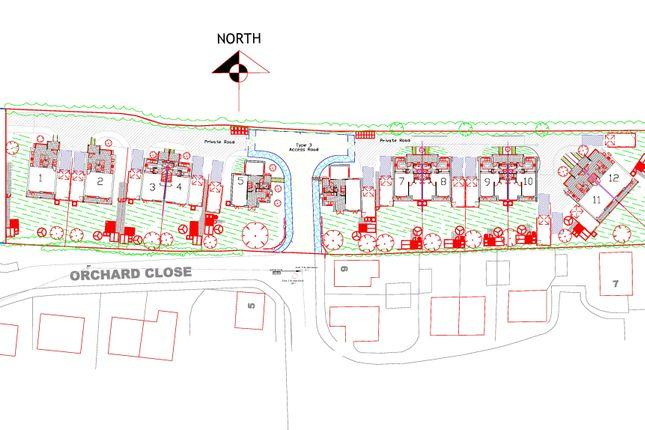 Thumbnail Land for sale in The Lane, Briston, Melton Constable