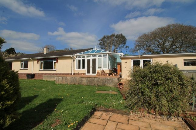 Thumbnail Detached bungalow for sale in Old Rectory Gardens, Thurlestone, Kingsbridge