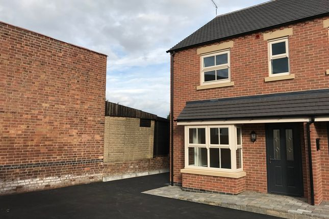 Thumbnail Semi-detached house to rent in Chapel Street, Ibstock, Coalville, Leicestershire