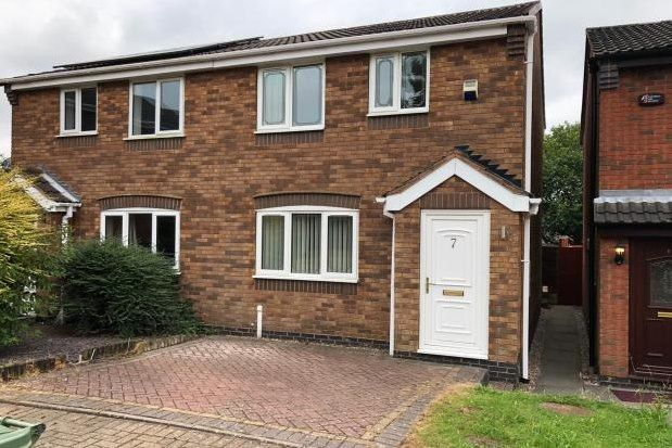 Thumbnail Property to rent in Bryans Way, Cannock