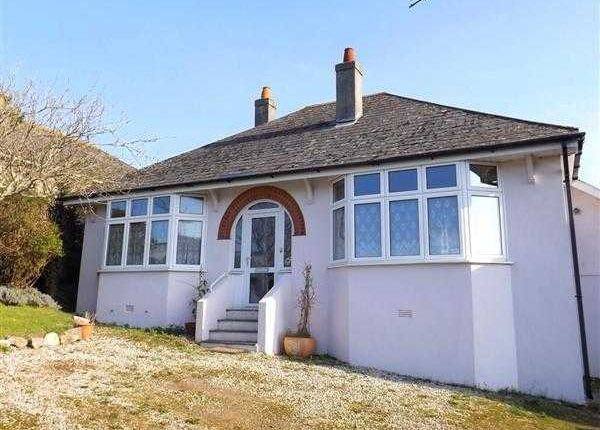 Thumbnail Bungalow to rent in Church Hill Road, Hooe, Plymouth