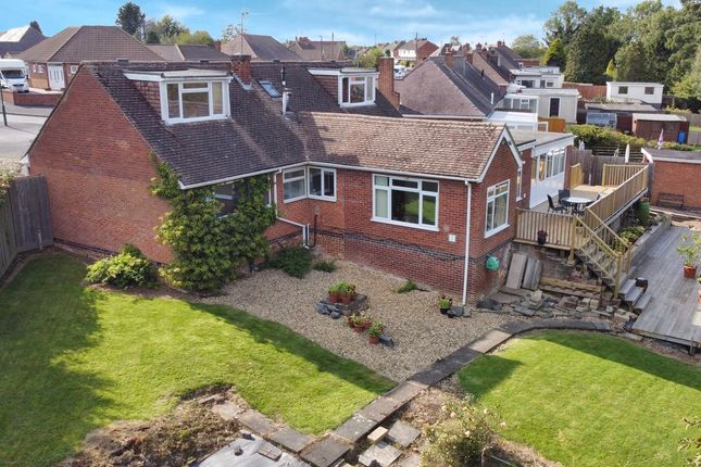 Thumbnail Bungalow for sale in Charnwood Drive Thurnby, Leicester