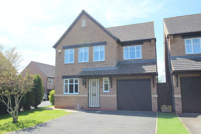 Thumbnail Detached house for sale in Brunel Way, Honeybourne, Evesham