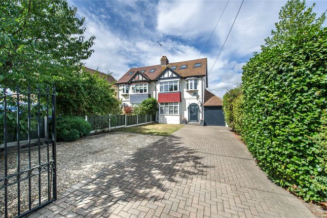 Thumbnail Semi-detached house for sale in Brompton Farm Road, Strood, Kent