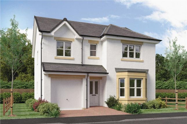 "Thumbnail Detached house for sale in ""Hughes"" at Springhill Road, Barrhead, Glasgow"