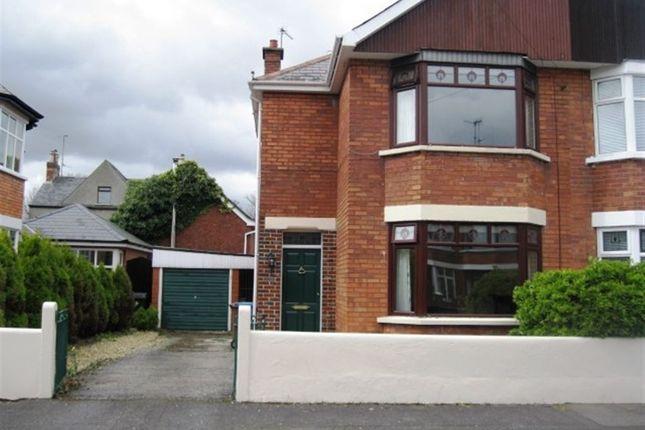 Thumbnail Semi-detached house to rent in Ravensdene Crescent, Ravenhill, Belfast