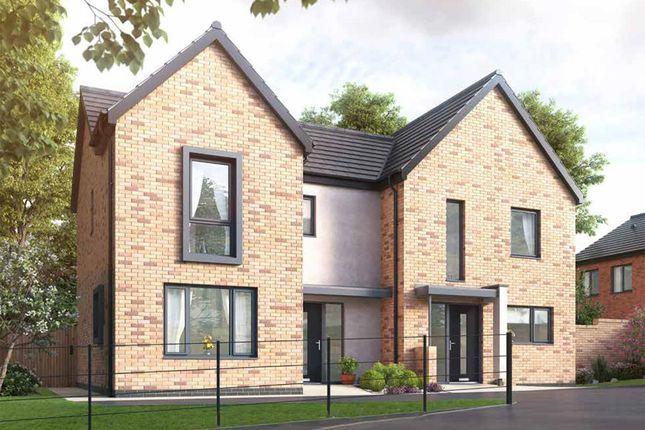 Thumbnail Semi-detached house for sale in Meadow Lane, Off Fordbridge Lane, South Normanton, Alfreton