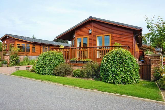 Thumbnail Lodge for sale in Mill Garth Park, York