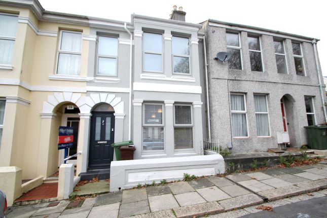 Thumbnail Terraced house to rent in Oxford Avenue, Peverell, Plymouth