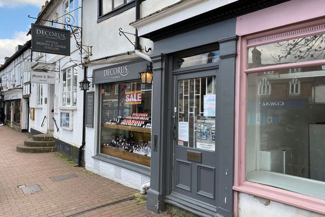 Thumbnail Retail premises to let in 4 High Street, East-Grinstead