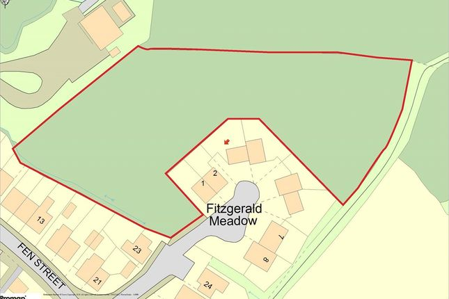 Thumbnail Land for sale in Fitzgerald Meadow, Boxford, Sudbury, Suffolk