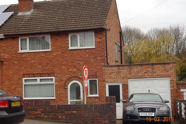 Thumbnail Semi-detached house to rent in Heacham Drive, Leicester