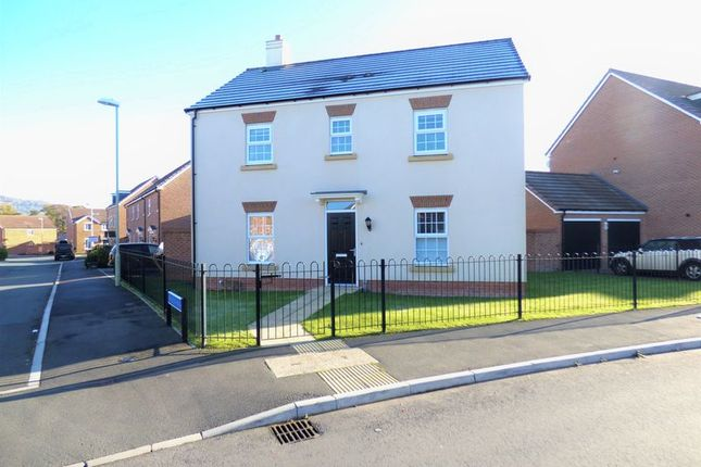 Thumbnail Detached house for sale in Brize Avenue Kingsway, Quedgeley, Gloucester
