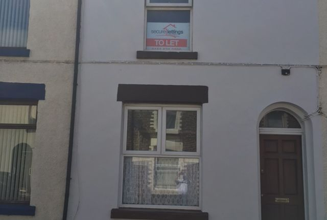 Thumbnail Terraced house to rent in Anglesea Road, Walton