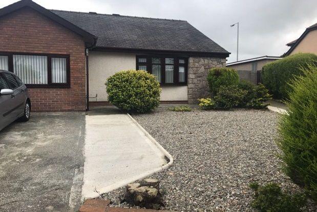 Thumbnail Detached bungalow to rent in Ffordd Gwyndy, Penrhosgarnedd, Bangor
