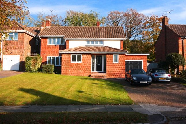 Thumbnail Detached house for sale in Woodlands, Pound Hill, Crawley